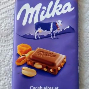 フランスでピーナッツ入りチョコを見つける