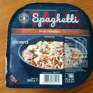ピカールのボンゴレスパゲティを試してみた