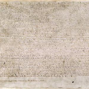 (トピックス)マグナ・カルタ〔大憲章〕制定800年