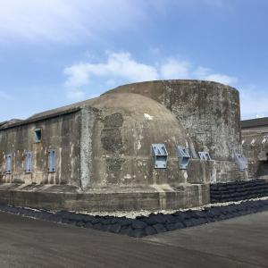 神奈川県横須賀市追浜(1)、第三海堡構造物(移築)