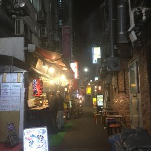 【日記】新橋駅SL広場の奥の路地裏
