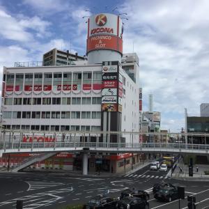 茨城県土浦市、土浦駅周辺の町並み