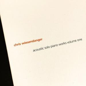 クリス・ヴィーゼンダンガー『acoustic solo piano works』の2枚
