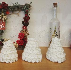 編み小物で楽しむクリスマス♪