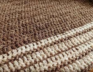 ザクザク編み始めました♪