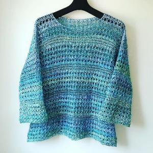 かぎ針編みプルオーバー