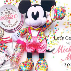 ストア本日発売!Let's Celebrate with Mickey Mouse! 2020