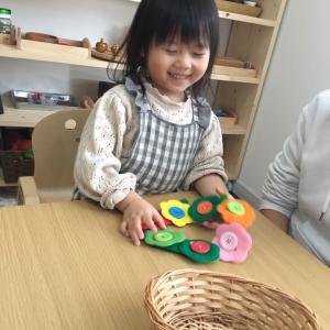 【モンテッソーリ】お教室での経験を実生活へ・亀有教室の様子