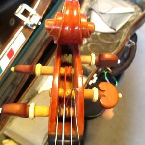 一粒で2度美味しい、的なバイオリンになった