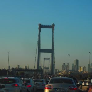 ボスポラス大橋通過