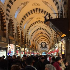 エジプシャンバザールで買い物