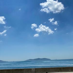 アジア側の海も美しい〜
