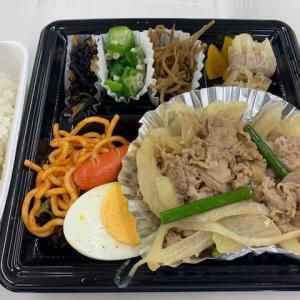 7月6日 昼は堂島地下かっぽうぎの弁当