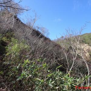 大笠山② 圧巻続きの下山