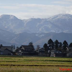 新雪1番乗りの「赤祖父山」