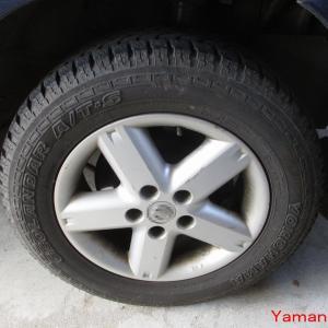 冬の準備 タイヤ交換