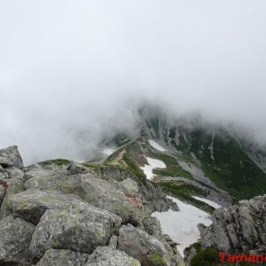 立山と神の道