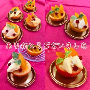 フェイクスイーツマルシェ☆オレンジのカップゼリーWS ありがとうございました!