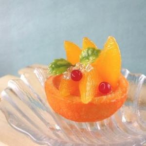 フェイクスイーツマルシェ随時ワークショップ☆オレンジのカップゼリーは明日開催【明日最終日!】