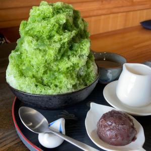 和菓子屋さんのかき氷❤️