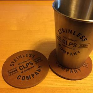 cups coのレーザーコースター