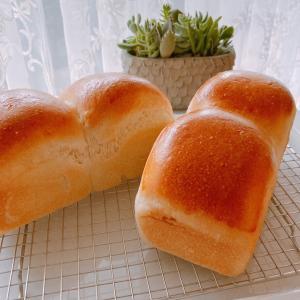 一晩経っても美味しい!しっとりもちもちのミニ食パン♡