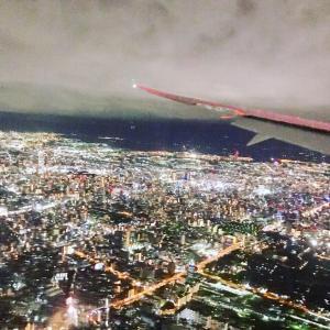 大阪の上空