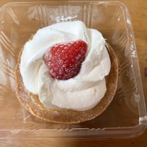 苺のショートケーキ風タルト