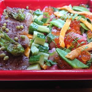 ユピロ亭弁当(7)《ユピロ亭 超贅沢 尾崎牛&バラ寿司》