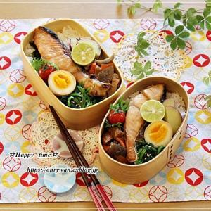 鮭弁当とバルーンドフリュイ♪