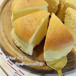 チーズケーキスフレ♪