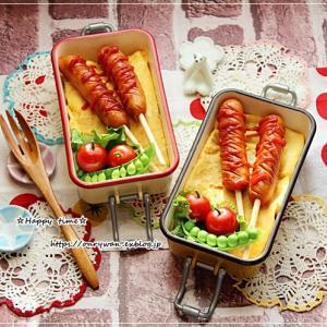 フランクフルト弁当とパン焼き♪