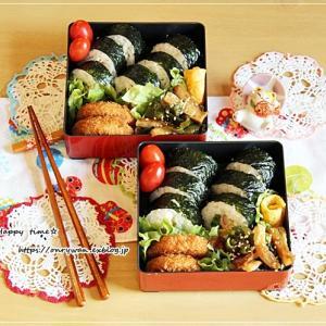巻き寿司弁当とおさんぽ♪
