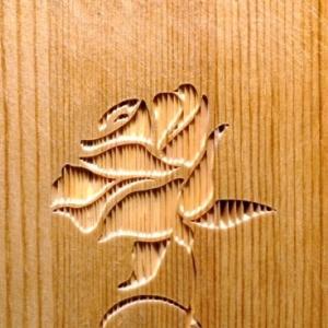 続・木工サンドブラスト