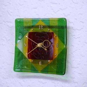 またまた風のクラフトと薔薇時計