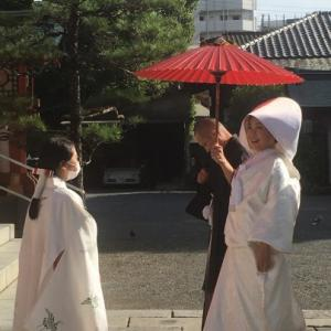 神社で挙式