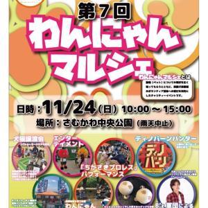 わんにゃんマルシェ&動物フェスティバル神奈川 2019 in さむかわ・ちがさき