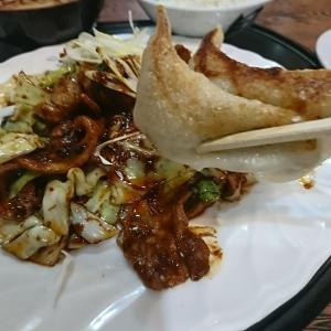 うん、これはまんぞくだ!本日のランチ、ホイコーロー定食と餃子 。ご飯は大盛りだし最高のウマさでした。大観(だいかん)、本宮市行って来ました。