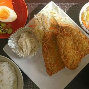 本日の孤独のランチ、アジフライ定食700円税込 これは美味しい!ご飯のおかわりをしてしまいましたよ。「はにわの里食堂 」泉崎村行って来ました!