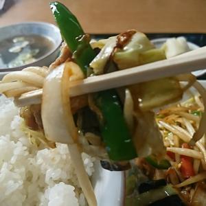 ここの野菜炒めは絶品やなあ~!たまらん、たまらん、がっつり食べて来ました!中島村 清華(せいか)行って来ました!