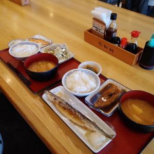 本日のランチ、相方(男性)との合同ランチでした、これはウマイ❗二人で食べる食事は最高でしたよ。