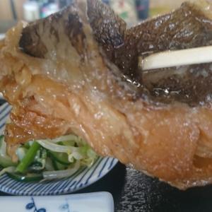 本日の日替わり定食、マトウダイの煮付け 750円 甘じょっぱくてとてもおいしかったですよ。「うお政」泉崎村行って来ました!