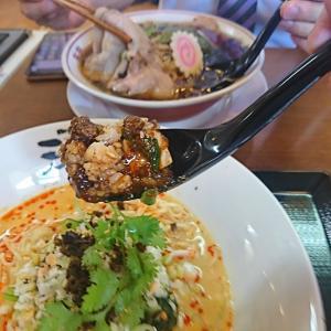 「料理の鉄人」、直弟子の、四川ピリ辛マーボ丼、冷やし担々麺、チャーシューメン、食べて来ました!本当にウマイ!たまんねえ~! 「天心」須賀川店行って来ました!