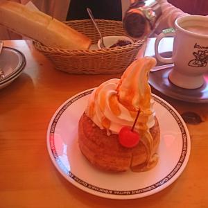 「ちょっと、ハチミツかけすぎじゃね」シロノワール、いちご氷、キウイ氷、モーニングサービス食べて来ました!「コメダ珈琲店」、会津若松白虎通り店