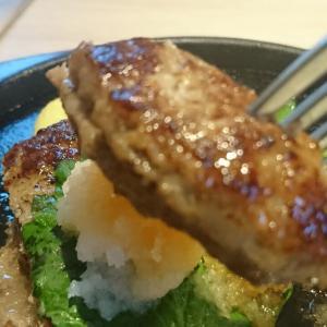本日のデイナー、たまに食べたくなるビーフ・ハンバーグおろし デニーズ二本松店行って来ました!