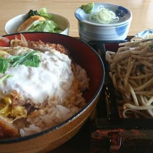 カツ丼も食べたいし、ざるそばも食べたい、そうだ!カツ丼セット1200円にしよう。これはお得だね!