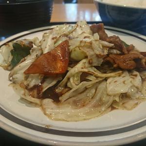 秋は新米だよ!ライスと味噌汁が絶品のうまさです。もちろんホイコーローもまいう~でしたよ。本日のランチ五百川食堂行って来ました!