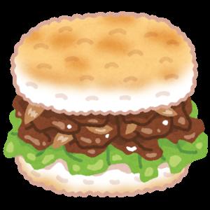 ご飯バーガー