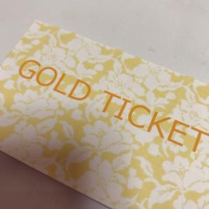 【期間限定】ゴールドチケット販売!