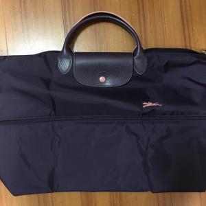 50代の旅行かばん●ロンシャンプリアージュクラブのトラベルバッグ